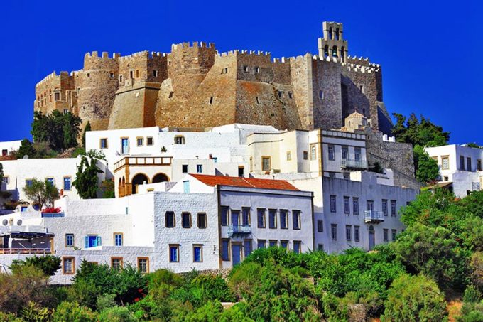 Patmos island, Greece.