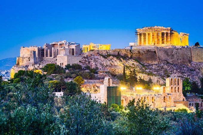 Acropolis - Athens, Greece
